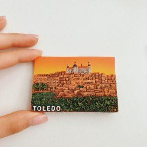 Toledo, day trip to Toledo, souvenir magnet Toledo
