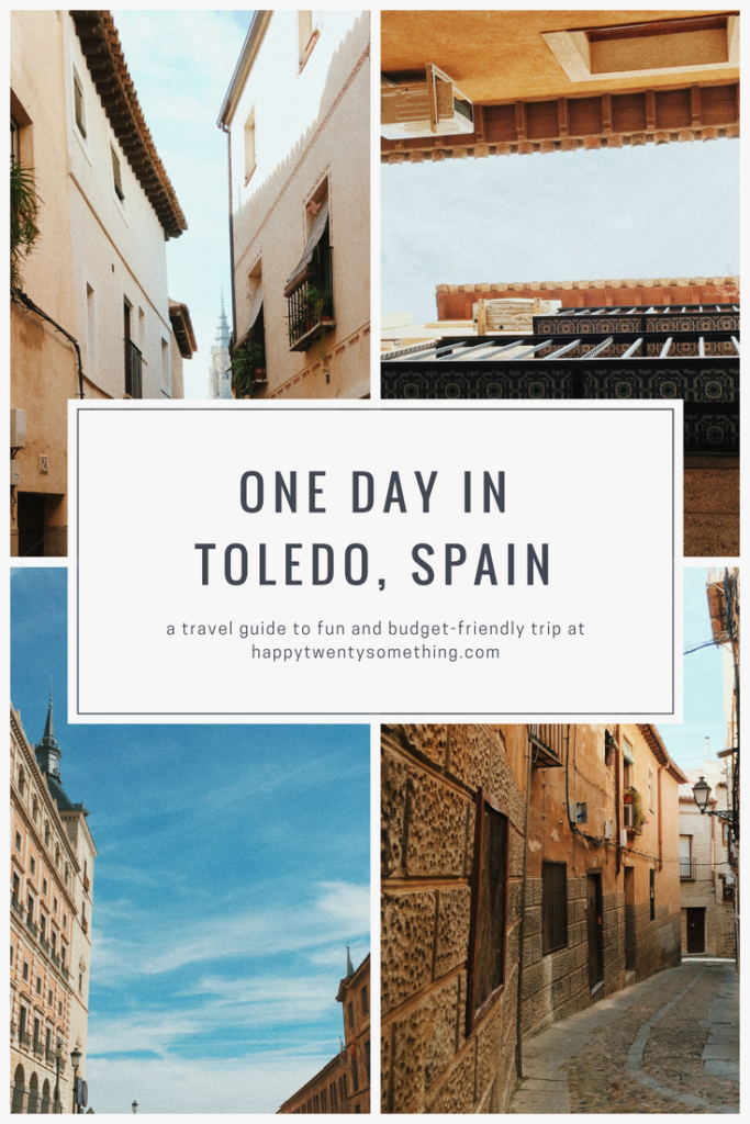 one day trip to Toledo
