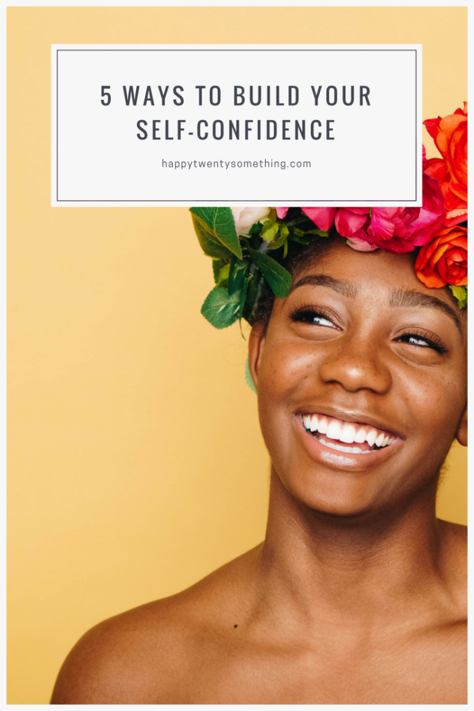 5 tips how to build your self confidence, pinterest