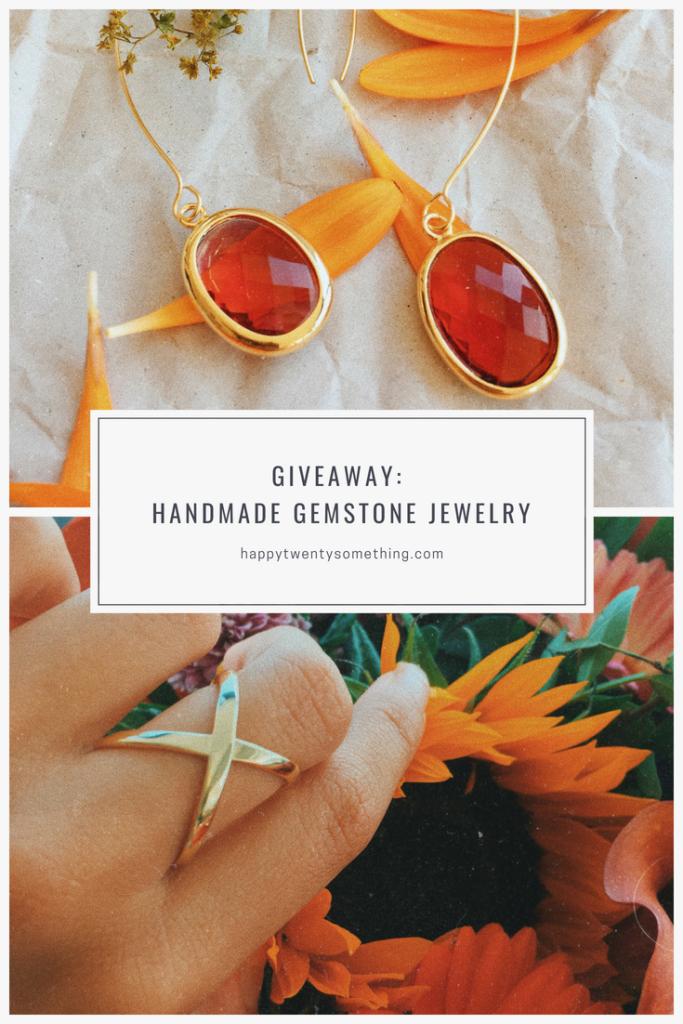 Giveaway Handmade Gemstone Jewelry